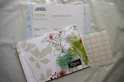 Creative Memories Hope Simply Said Book For someone special