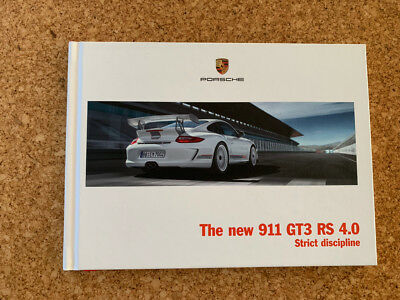 Porsche Hardback Brochure 911 GT3 RS 4.0 USA Edition MINT 997 997.2