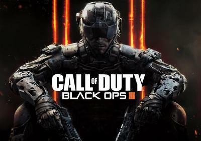 Call Of Duty Black Ops III Large Wall Poster Various Sizes