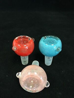 Hookah Water Pipe 14mm Bowl Male Bowl Piece Assorted Colors -- Fast Shipping