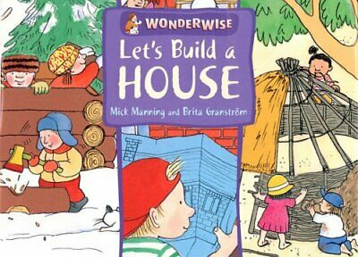 Let's Build A House: A book about buildings and... by Granstr�m, Brita Paperback