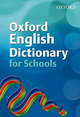 Oxford English Dictionary for Schools Hardback Book The Cheap Fast Free Post