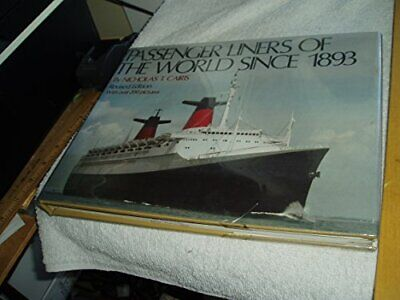 Passenger Liners of the World Since 1893 by Cairis, Nicholas T Hardback Book The