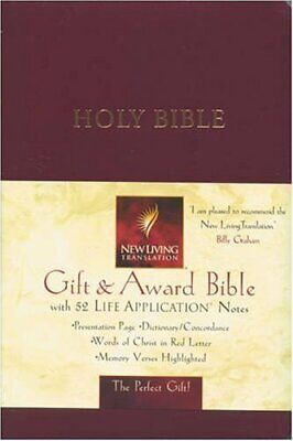Gift and Award Bible (Bible Nlt) Leather / fine binding Book The Cheap Fast Free
