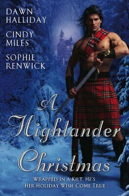 Highlander Christmas, A by Dawn Halliday Paperback Book The Cheap Fast Free Post
