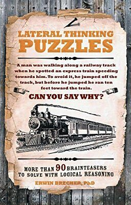 Lateral Thinking Puzzles by Erwin Brecher Book The Cheap Fast Free Post