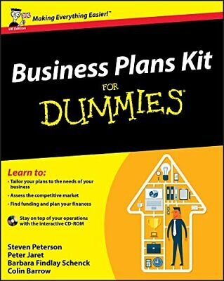 Business Plans Kit For Dummies (UK Edition) by Barrow, Colin Paperback Book The