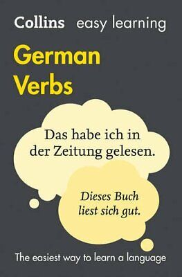 Easy Learning German Verbs (Collins Easy Le... by Collins Dictionaries Paperback