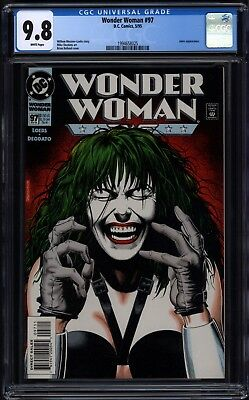 Wonder Woman #97 (1987) - CGC 9.8 - Bolland cover - 1994658025