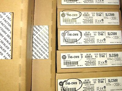 NEW / SEALED 2013 AB Allen Bradley 1746-OW16 Ser D OUTPUT MODULE