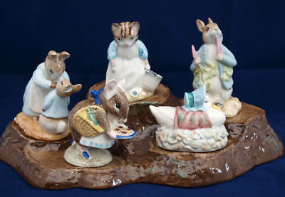 BEATRIX POTTER FIGURES BY ROYAL ALBERT BACKSTAMPS BP6a - SELECT FIGURE
