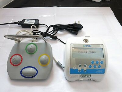 ACTEON i-SURGE IMPLANT DENTAL SURGICAL CONTROL CONSOLE MOTOR FOOT PEDAL SURGERY