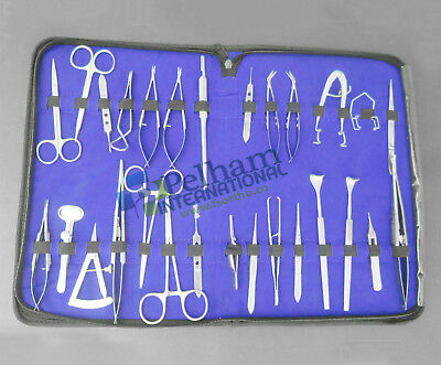 30 Pc O.R Grade Basic Ophthalmic Eye Micro Surgery Surgical Instruments EY-046