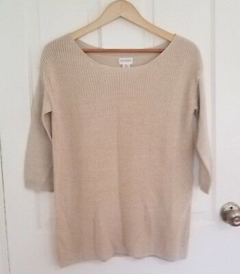 Motherhood Maternity Cream Colored Sweater Size Small - NWT