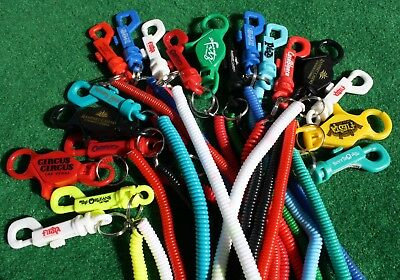 20 Bungee Cord Card Holder Keychains Nevada Casinos!  New!