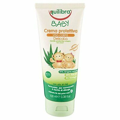 Equilibra Gentle protective face and body cream for children 0m + 100ml UK Stock