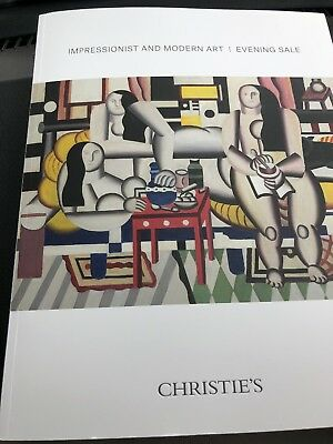 CHRISTIE'S AUCTION CATALOG Impressionist And Modern Art 🖼  NEW YORK 15 May 2018