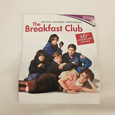 The Breakfast Club 30Th Anniversary Edition  In Hd Uk  Ultraviolet Uv Code Only