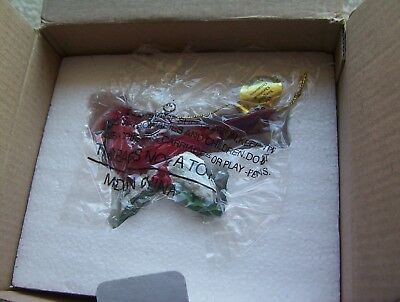 Danbury Mint Songbird Christmas Ornament Red Cardinal New with Tag