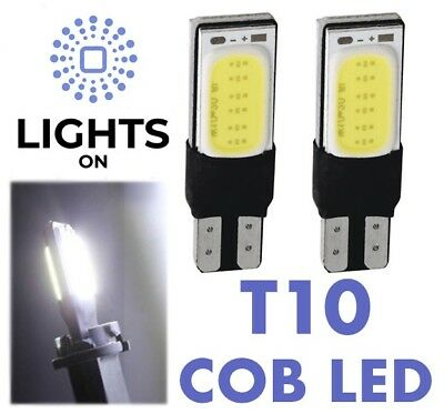 SIDE LIGHT T10 Car Bulbs LED Error Free CANBUS W5W 501 SMD COB XENON WHITE