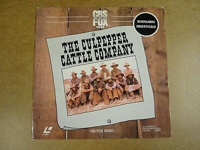 Laserdisc / The Culpepper Cattle Company