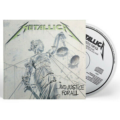 Metallica - And Justice For All [New CD] Rmst