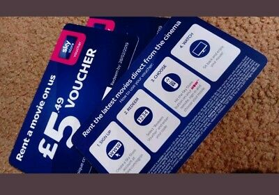 Sky store £5.49 rent a movie voucher - genuine from now TV box