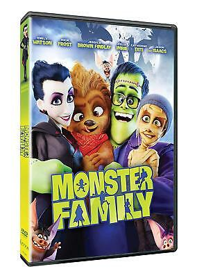 Monster Family Animated Movie DVD Box Set Hit Cinema Film New Sealed Free P&P