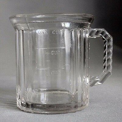 Vintage Rare WESTMORELAND 1 CUP 8 Ounce MEASURING CUP Clear Glass