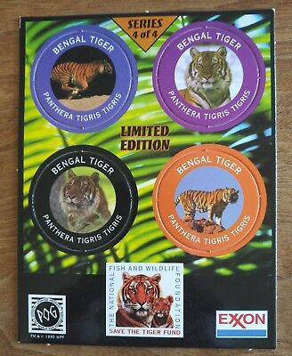EXXON TIGER POG FACT TOKENS SERIES 4 INTACT -- Free Shipping -- 18 Available