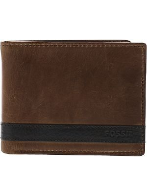 Fossil Men's Quinn Passcase Leather Wallet