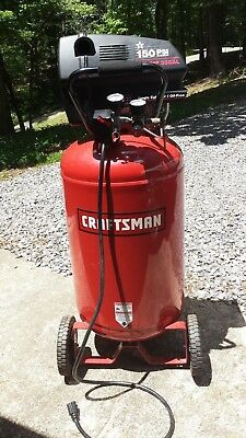 CRAFTSMAN AIR COMPRESSOR - 33Gal Upright / 2hp - Pick Up Required - No  Reserve