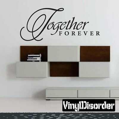 Together forever Vinyl Sticker bible verse christ bible wall decal
