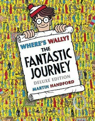 Where's Wally? The Fantastic Journey by Martin Handford Book The Cheap Fast Free