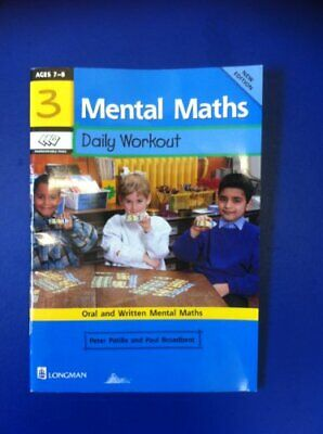 Mental Maths: Daily Workout: Book 3 by Broadbent, Paul Paperback Book The Cheap