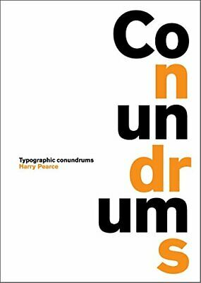 Conundrums by Harry Pearce Hardback Book The Cheap Fast Free Post