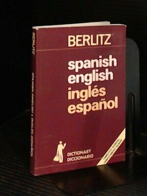 Spanish-English-Spanish Dictionary Revised ... by aEditions Berlitz S. Paperback