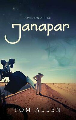 Janapar: Love, on a Bike by Tom Allen Book The Cheap Fast Free Post