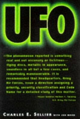UFO by Sellier, Charles E. Hardback Book The Cheap Fast Free Post