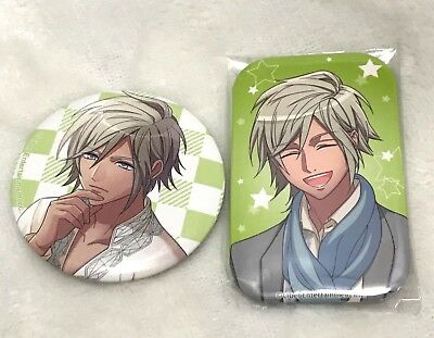 LIBER Entertainment, A3! Act! Addict! Actors!, Citron, Lot of 2 Can Buttons
