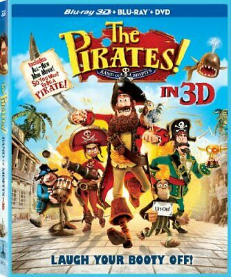 Pirates Band of Misfits [Blu-ray] [2012] [US Import] - DVD  HGVG The Cheap Fast