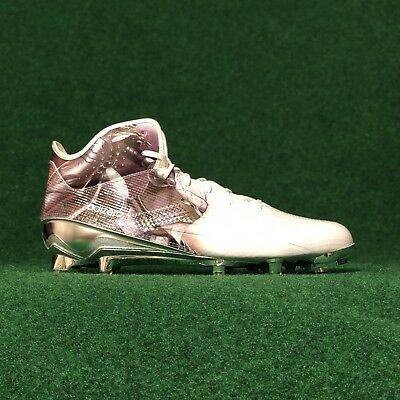 timeless design e844f df0bc New Adidas Adizero 5-Star 5.0 Mid Uncaged Knight Football Cleats White Size  12.5