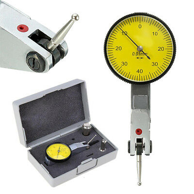 Profession Metric Precision 0.01mm Dial Test Indicator DTI Clock Gauge 0-0.08mm