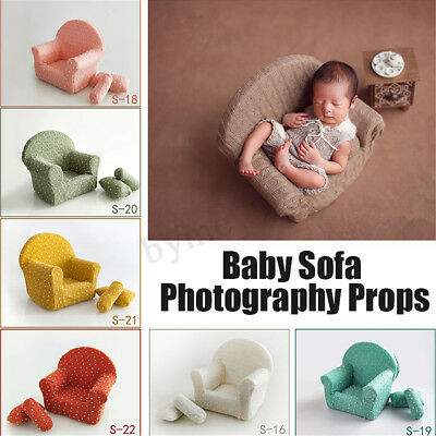 Newborn Photography Props Posing Sofa Arm Chair For Baby Photo Shooting Studio