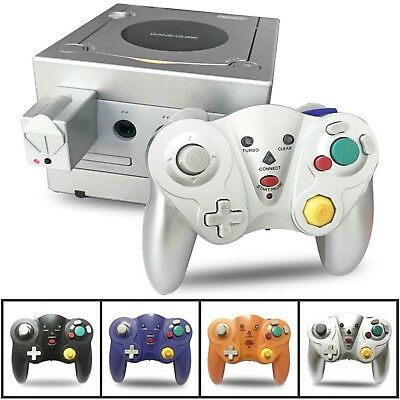 2.4G Wireless Gamepad Game Controller w/Adapter For Nintendo GameCube Wii GC NGC