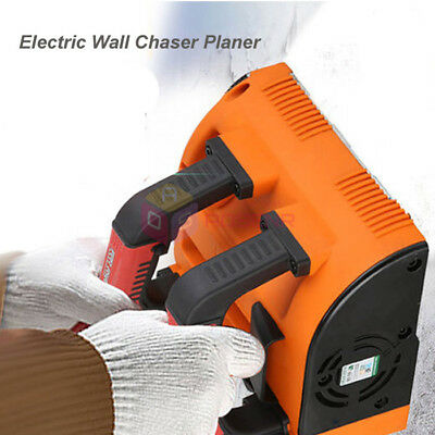 Electric Wall Chaser Planer Wall Slotting Machine Wall Groove Cutting Machine