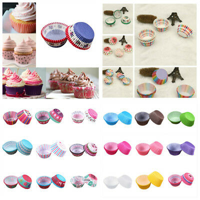 High Quality Cupcake Muffin Baking Greaseproof Paper Bun Cases Cake Decorating