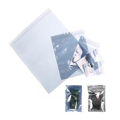 10Pcs ESD Anti-Static Shielding Bag Translucent Zip Lock Resealable Bags H&P