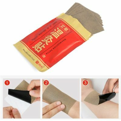 20Pcs/Bag Natural Moxa Moxibustion Heat Pain Relief Patches Adhesive Plaster