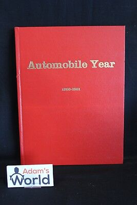 Eidita Lausanne Book Automobile Year 1980-1982 #28 (English) (JO)